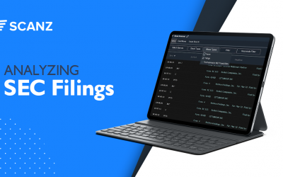 Analyzing SEC Filings with Scanz