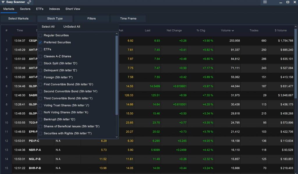 Preferred Stock - Easy Scanner