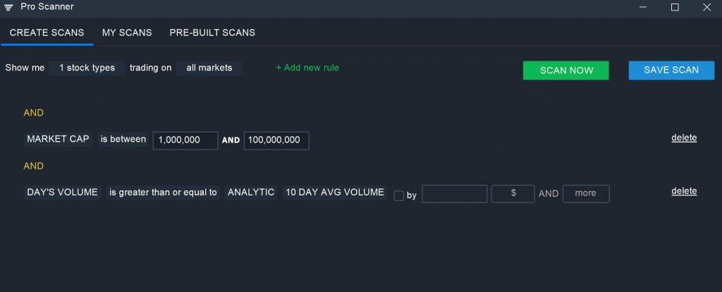 Preferred Stock - Pro Scanner