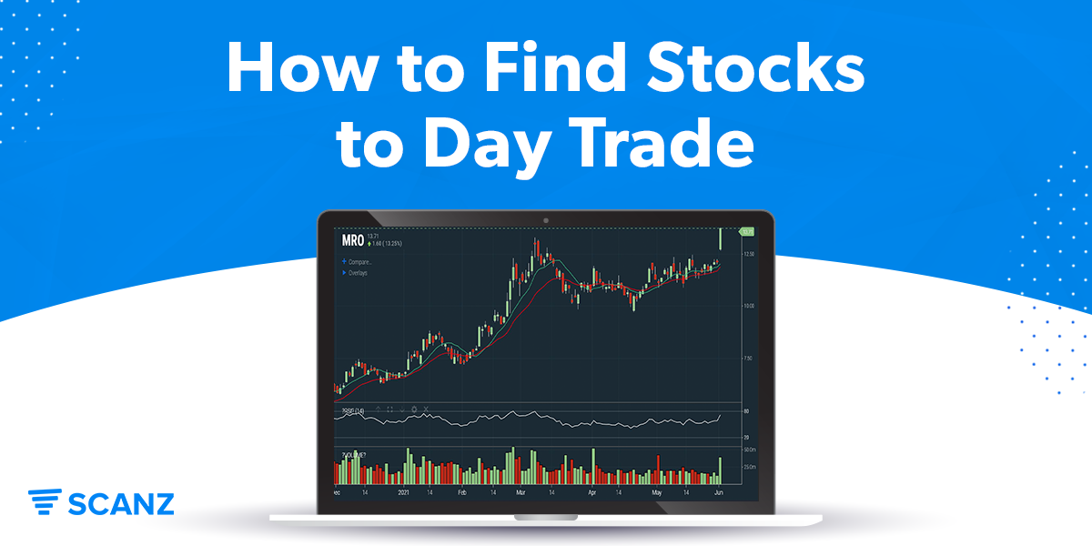 How to Find Stocks to Day Trade
